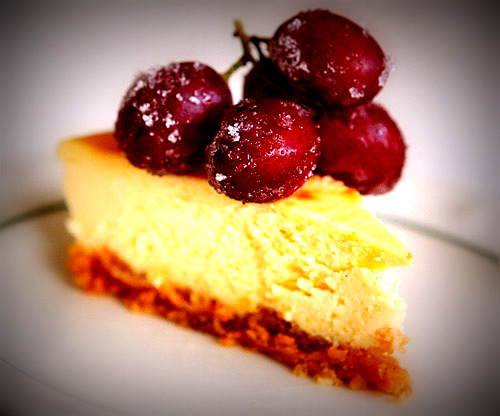 THE WORLD'S EASIEST CHEESECAKE