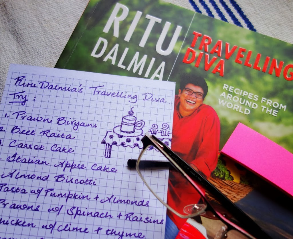COOKBOOK REVIEW: TRAVELLING DIVA BY RITU DALMIA